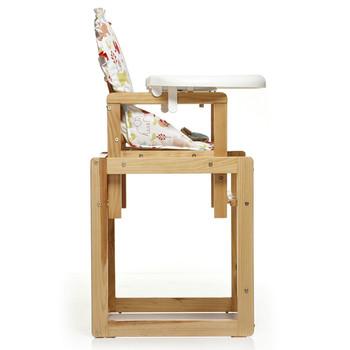 好孩子多功能婴幼儿童木制餐椅my312 .